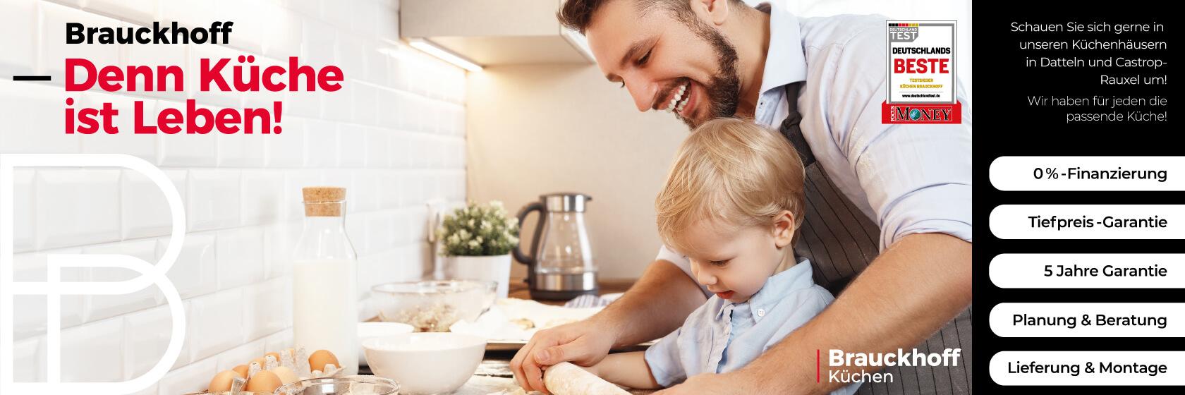 Brauckhoff Küchen - denn Küche ist Leben!